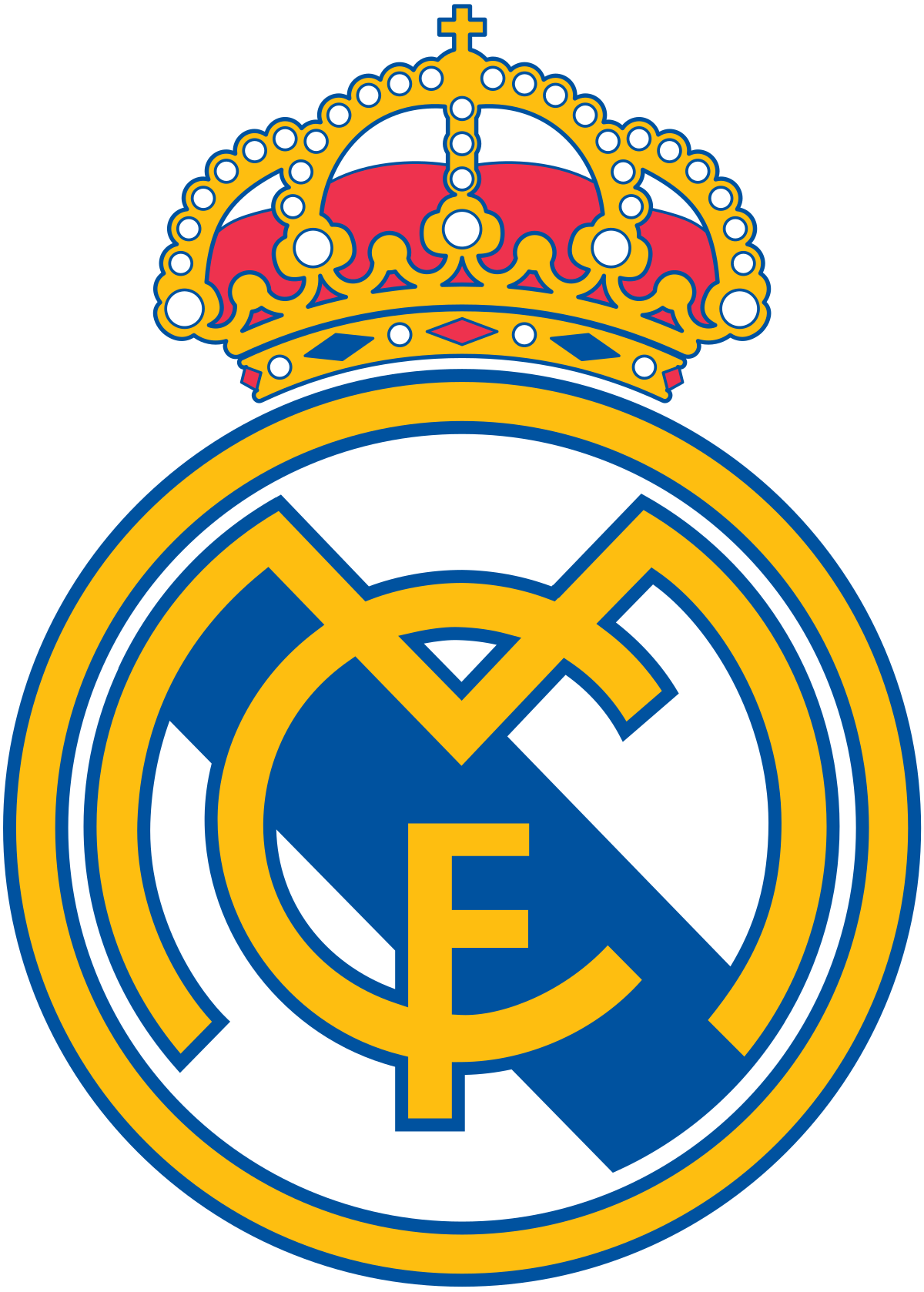 Real Madrid CF - Wikipedia image black and white stock