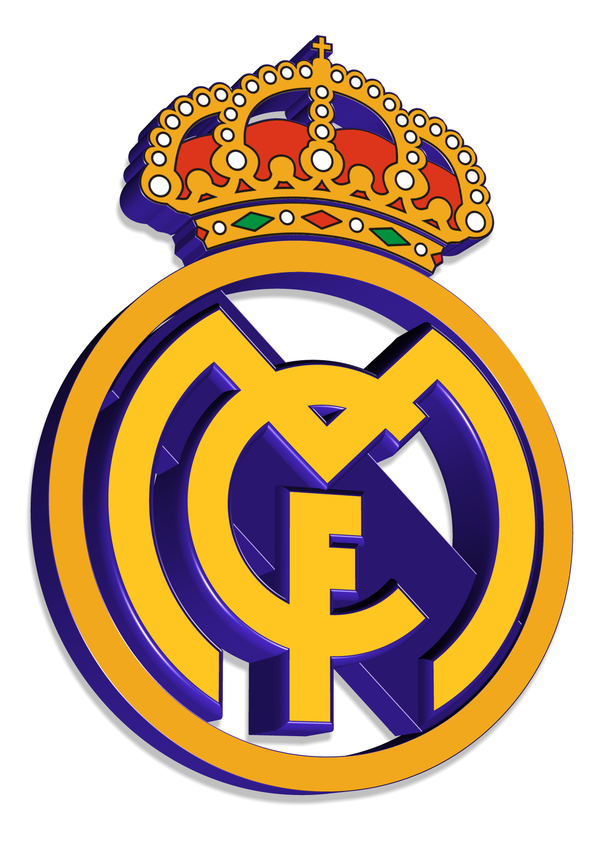 Real madrid logo clipart free library real madrid flag free library