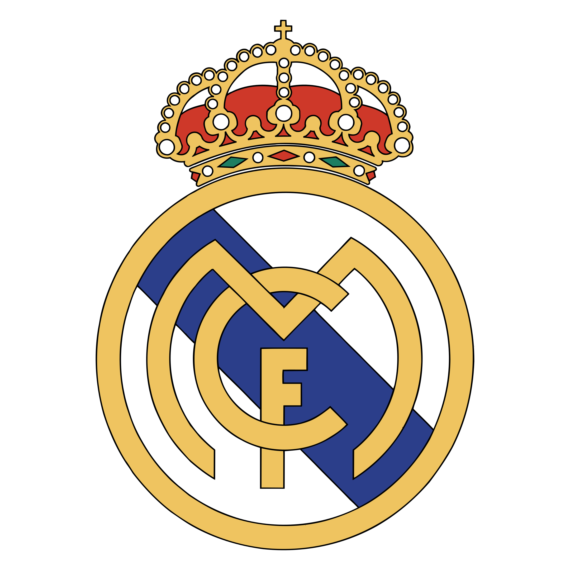Logo real clipart image free stock Logo real madrid png clipart images gallery for free ... image free stock