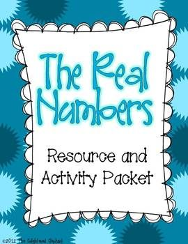 Real numbers clipart vector library library 17 Best images about Real Numbers on Pinterest | Math, Activities ... vector library library
