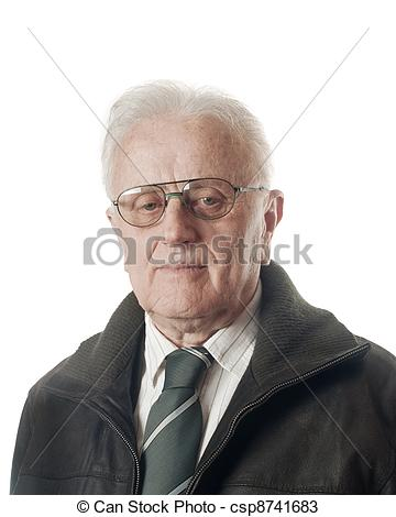 Real person clipart free library Stock Photos of Real people - Senior businessman portrait over ... free library