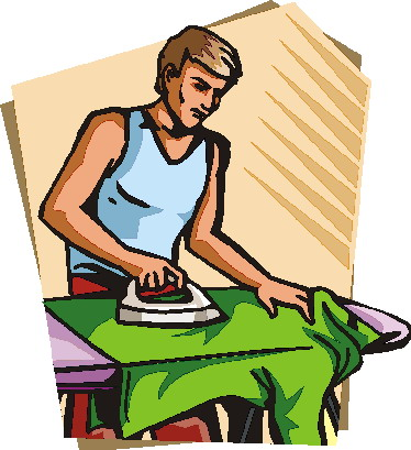 Real person clipart png download Person Ironing Clipart - Clipart Kid png download