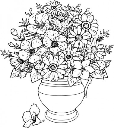 Real white vase clipart clipart library Pattern Flower Vase Clipart - Clipart Kid clipart library