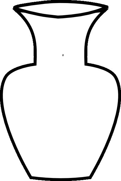 Real white vase clipart image library Black and white vase clipart - ClipartFest image library