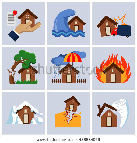 Real world disaster clipart picture black and white library Natural Disaster Stock Images, Royalty-Free Images & Vectors ... picture black and white library