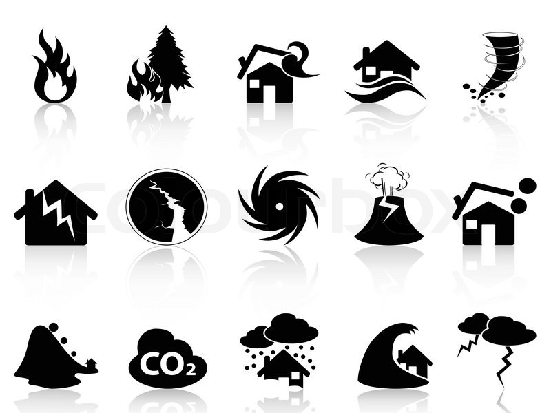 Real world disaster clipart clip art black and white download Buy Stock Photos of Natural Disasters | Colourbox clip art black and white download