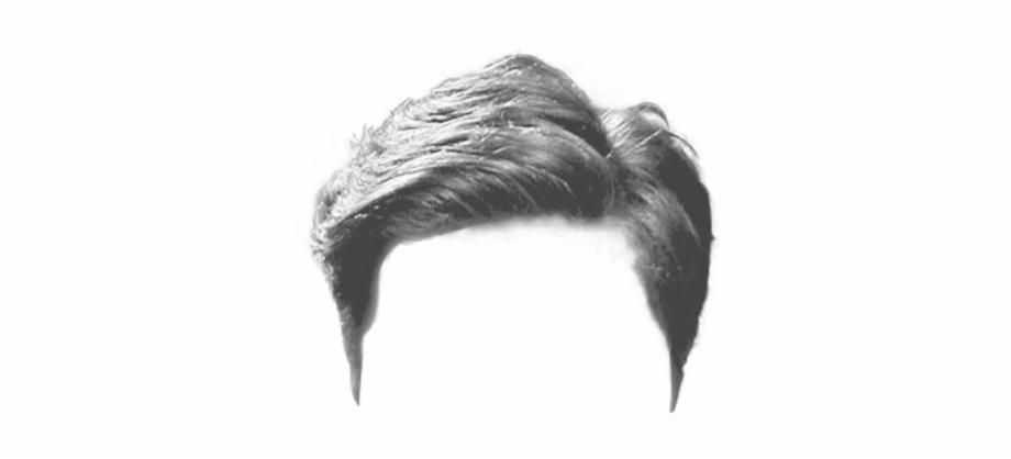 Realistic male hair clipart