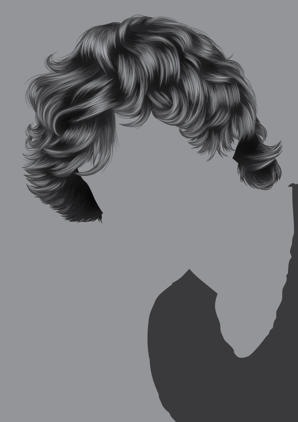 How to Render Short, Detailed Hair in Adobe Illustrator banner library stock