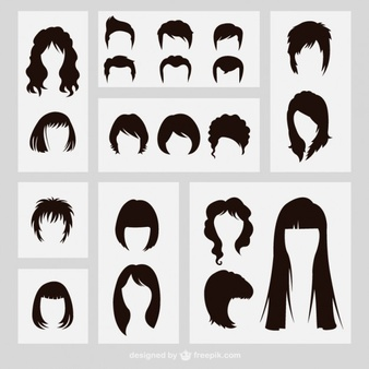 Realistic male hair clipart svg freeuse library Male Hair Vectors, Photos and PSD files | Free Download svg freeuse library