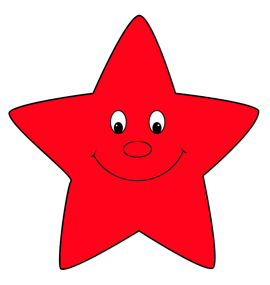 Star with smile clipart clipart free download Pictures Of Red Stars (40+) Desktop Backgrounds clipart free download
