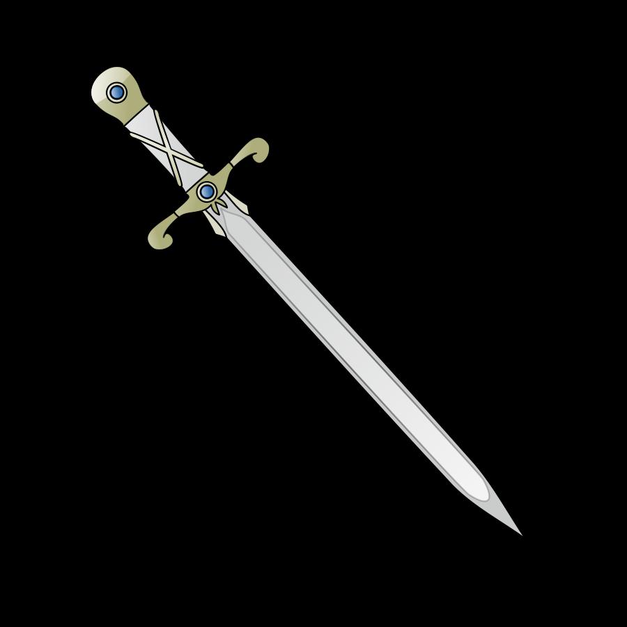 Longsword Weapon Clip art - Sword Images png download - 900 ... freeuse
