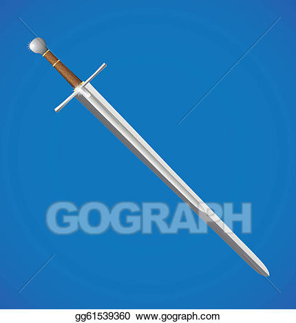 EPS Vector - Vector sword illustration. Stock Clipart ... picture royalty free library