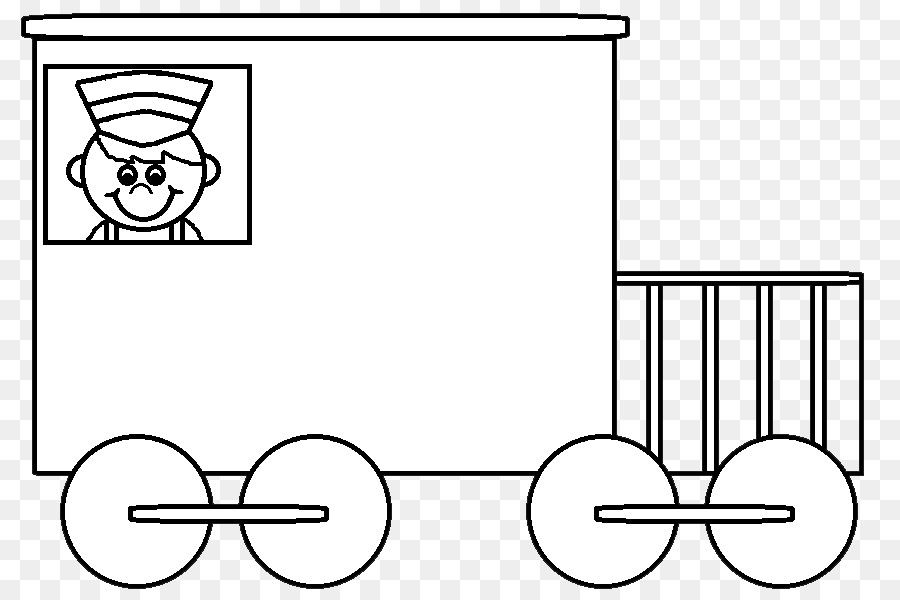 Rear of caboose clipart black and white banner transparent Train Cartoon png download - 885*599 - Free Transparent ... banner transparent