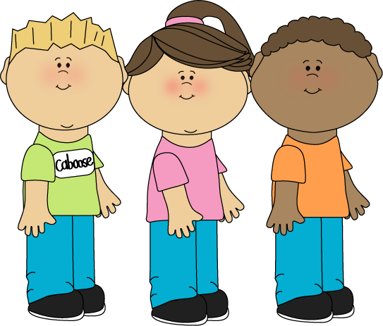 Kids standing clipart image free library Caboose Clip Art | Caboose Classroom Job Clip Art Image ... image free library