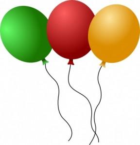 Reassurance clipart banner transparent Birthday Balloons Clip Art | Clipart Panda - Free Clipart Images banner transparent