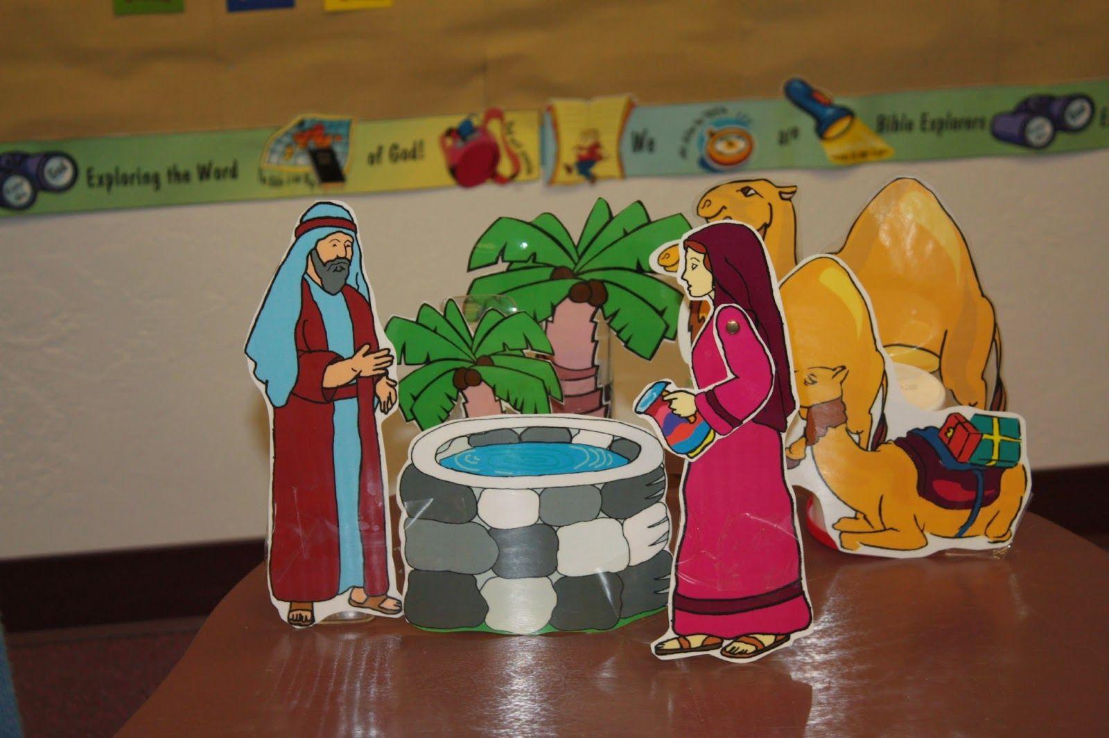 Rebekah clipart jpg transparent download Hands On Bible Teacher: Isaac and Rebekah clip art turned ... jpg transparent download