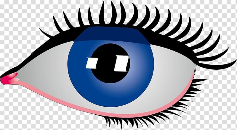 Eye Rebus , Simple cartoon big blue eyes transparent ... black and white stock