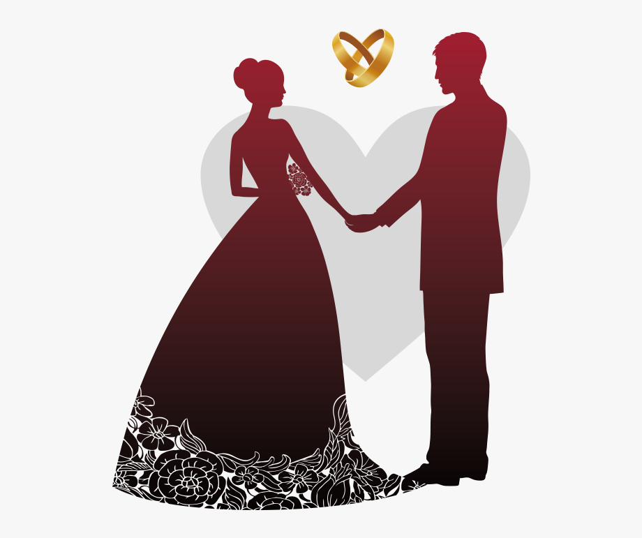 Reception people clipart picture royalty free library Wedding Invitation Wedding Reception Banner - Vector Wedding ... picture royalty free library