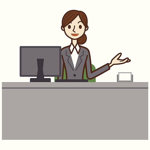 Reception people clipart clip art stock Receptionist clipart information counter - 29 transparent ... clip art stock