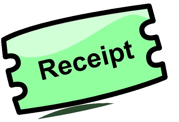 Reciepts clipart clip art freeuse Receipt Clip Art at Clker.com - vector clip art online ... clip art freeuse