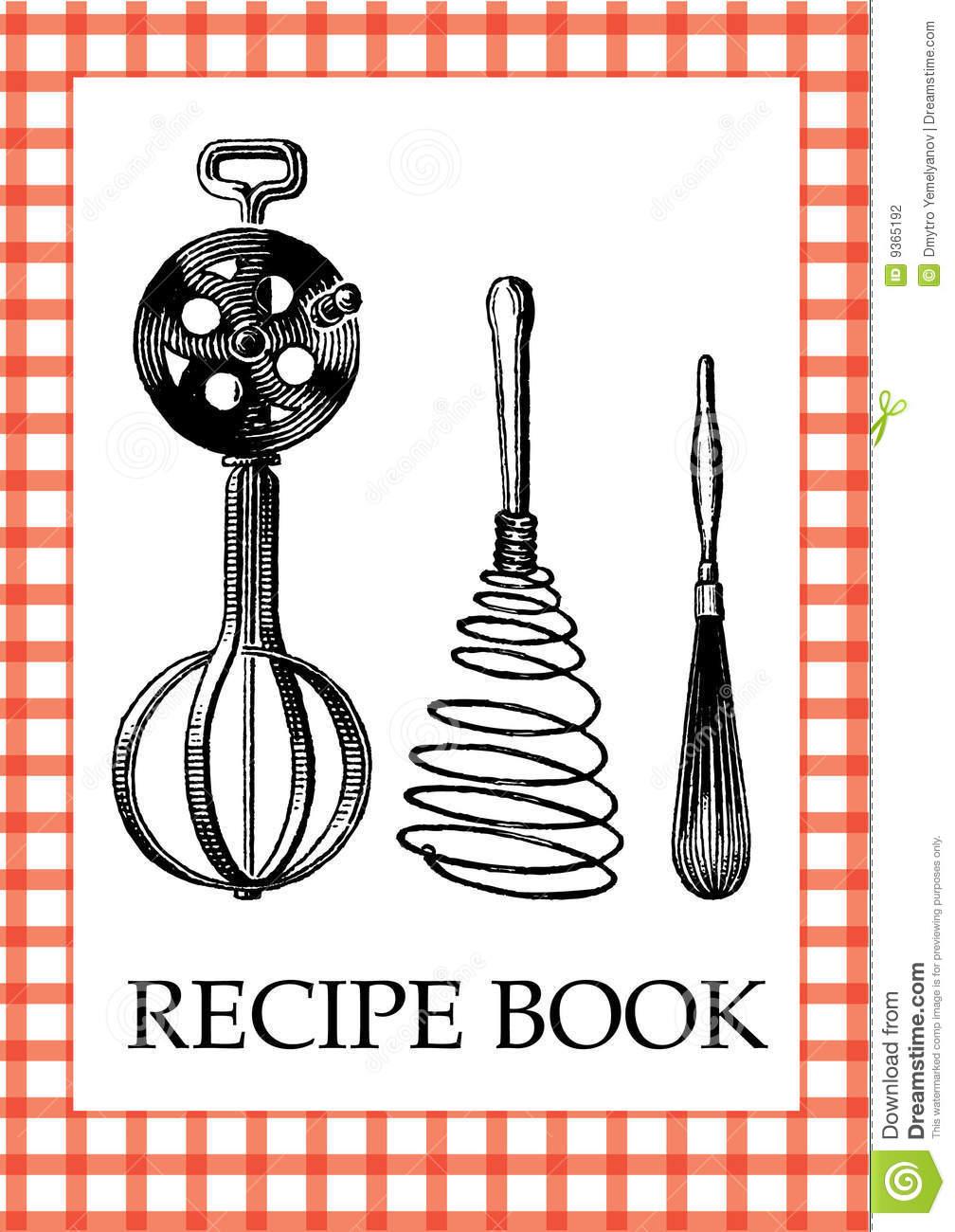 Recipe book cover clipart clip art free Cookbook Cover Clipart - Clipart Kid clip art free