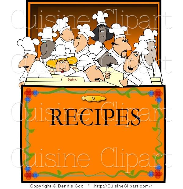 Recipe book cover clipart clipart black and white library Cute recipe book cover clipart - ClipartFox clipart black and white library