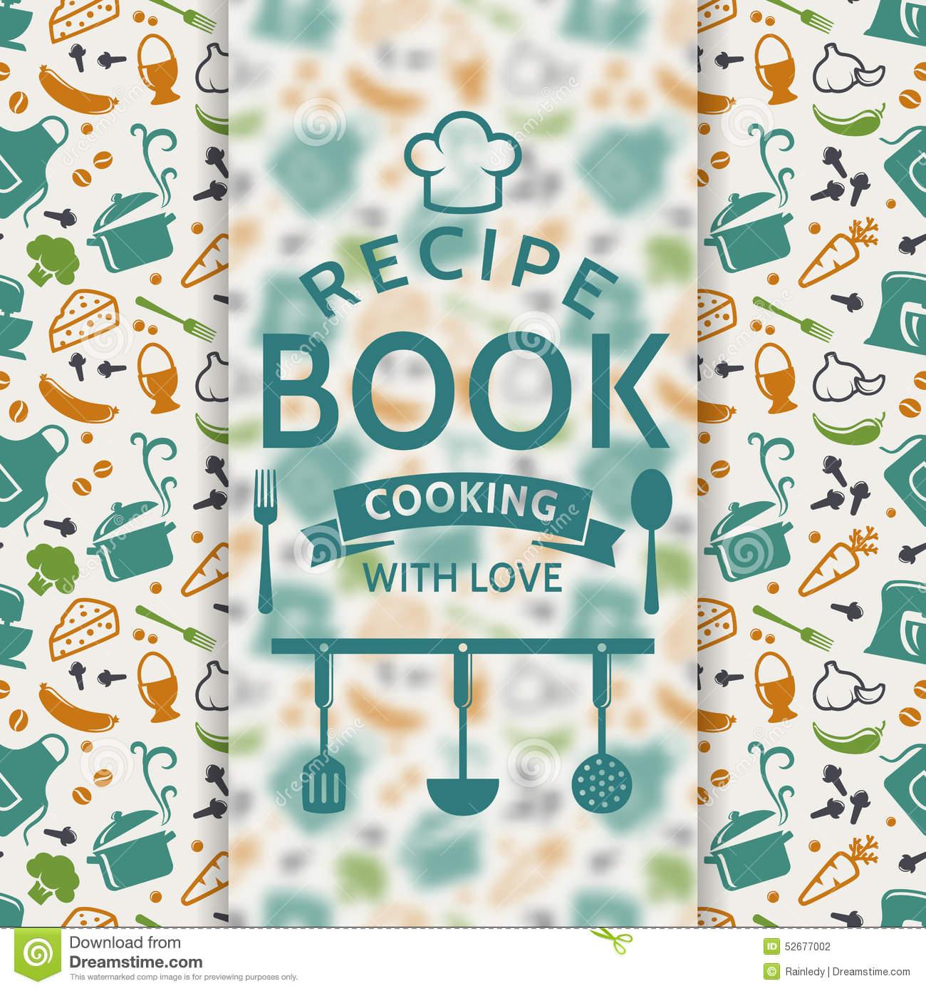 Recipe book cover clipart clip art free Cook / Recipe Book Card Cover Royalty Free Stock Photos - Image ... clip art free