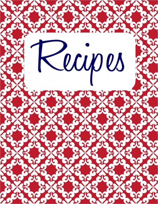 Recipe book cover clipart picture black and white Cute recipe book cover clipart - ClipartFest picture black and white