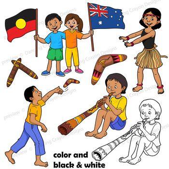 Recipe for raising children cliparts banner freeuse download Kids Clip Art: Indigenous Australian Children Clipart ... banner freeuse download