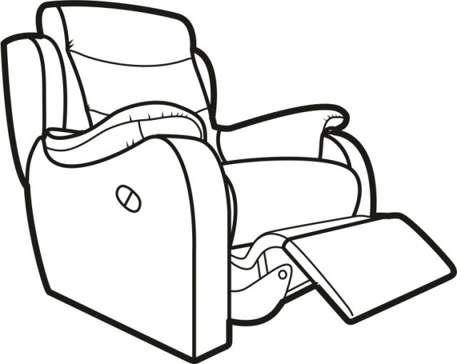 Recliner chair vector clipart black and white banner black and white Recliner Drawing | Free download best Recliner Drawing on ... banner black and white