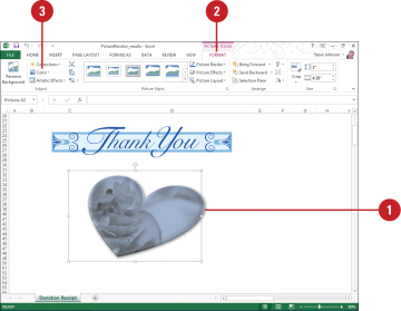 Recolor clipart in word transparent library Recoloring a Picture | Adding Art to Documents in Office ... transparent library