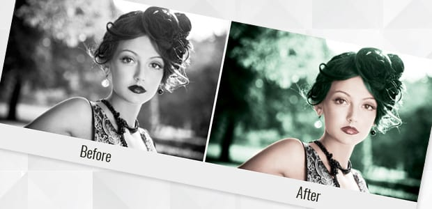 How to Colorize a Black and White Photo in Photoshop jpg royalty free stock