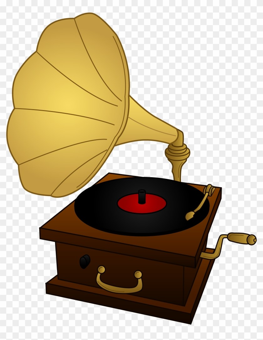 Record player clipart free graphic black and white Record player clipart free 5 » Clipart Portal graphic black and white