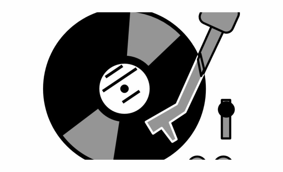 Record player clipart free svg black and white download Record Player Clipart Dj Table - Record Turntable Clip Art ... svg black and white download