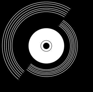 144 vinyl record clipart free | Public domain vectors graphic free stock