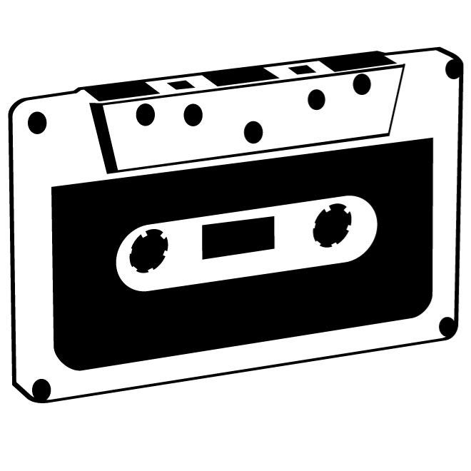 COMPACT CASSETTE VECTOR CLIP ART - Free vector image in AI ... image download