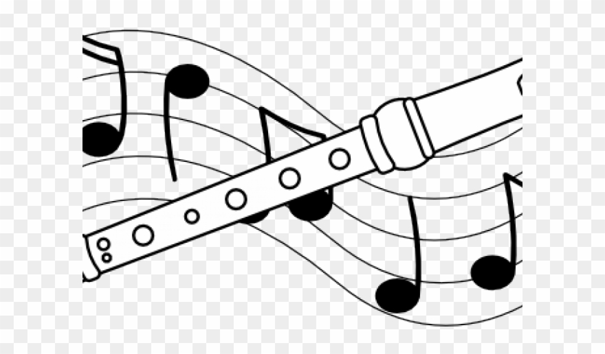 Recorder clipart black and white jpg library download Music Clipart Recorder - Recorder Clipart Free - Png ... jpg library download