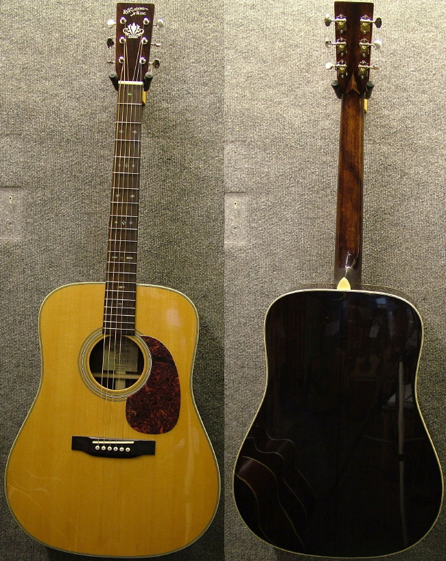Recording king svg transparent library Recording King Classic Series II RD-27 Acoustic Guitar svg transparent library