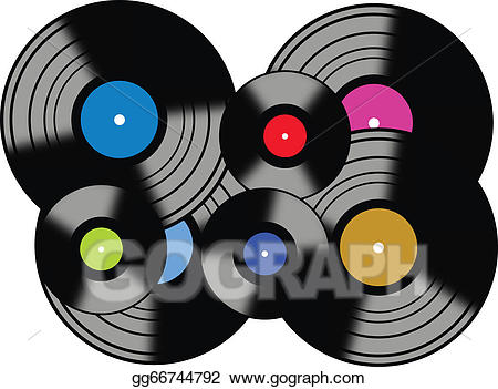 Records clipart banner free library Vector Stock - Records. Clipart Illustration gg66744792 ... banner free library