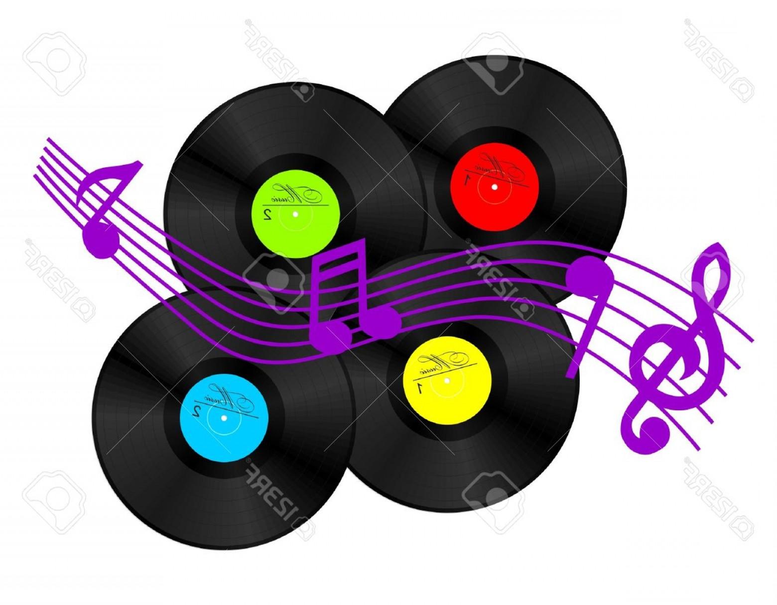 Records clipart clip art stock Vinyl Record Vector Clip Art | BoozeWorthy clip art stock