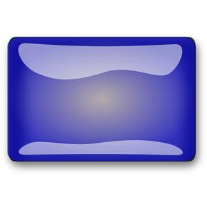Blue Rectangle Button clipart, cliparts of Blue Rectangle ... picture transparent