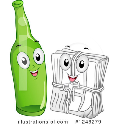 Recyclables clipart clipart royalty free stock Recycle Clipart #1246279 - Illustration by BNP Design Studio clipart royalty free stock