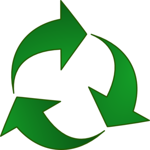 Recycle arrow clipart picture royalty free library Green Recycle Arrows Clip Art at Clker.com - vector clip art ... picture royalty free library