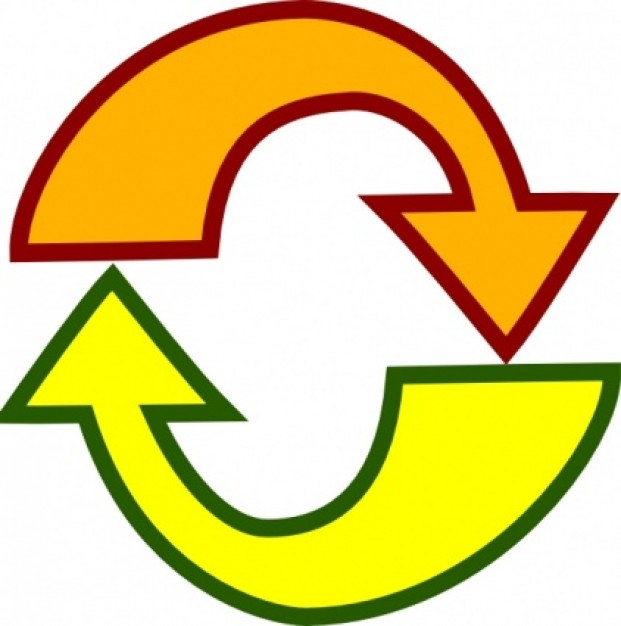 Recycle arrow clipart vector library stock Recycle Arrows | Free Download Clip Art | Free Clip Art | on ... vector library stock