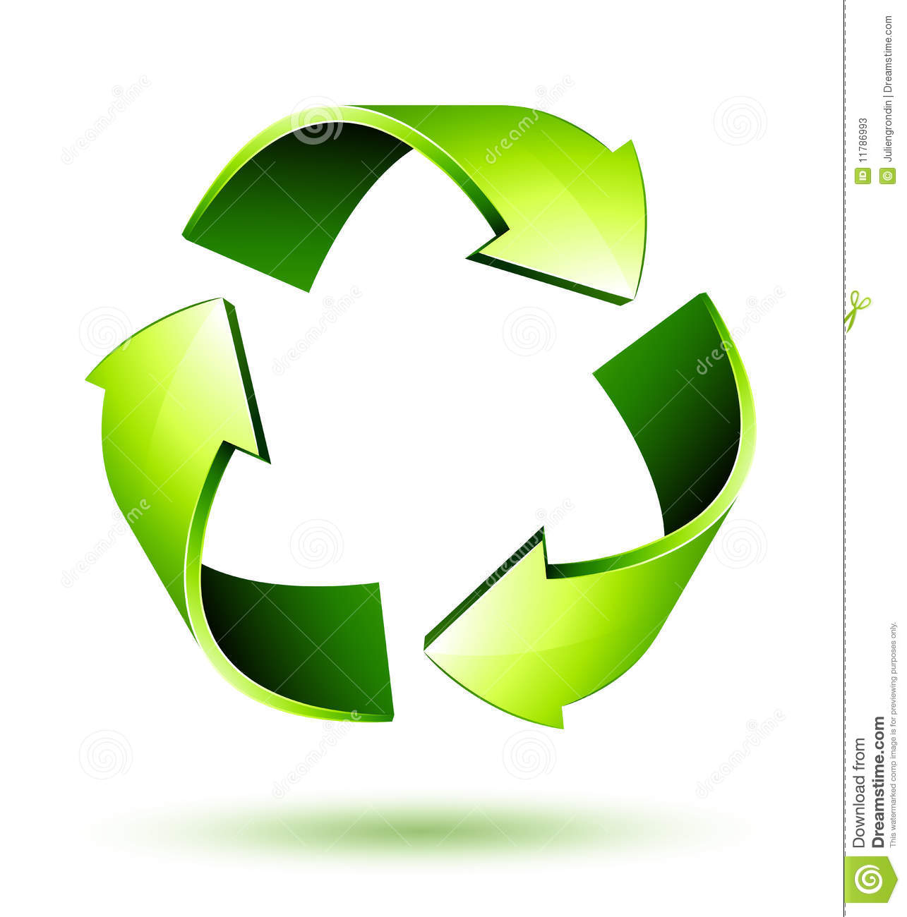 Recycle arrow clipart image freeuse stock Recycle Arrows. Recycle Symbol Stock Photos - Image: 11786993 image freeuse stock