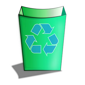 Green Recycle Bin clipart, cliparts of Green Recycle Bin ... clip art library download