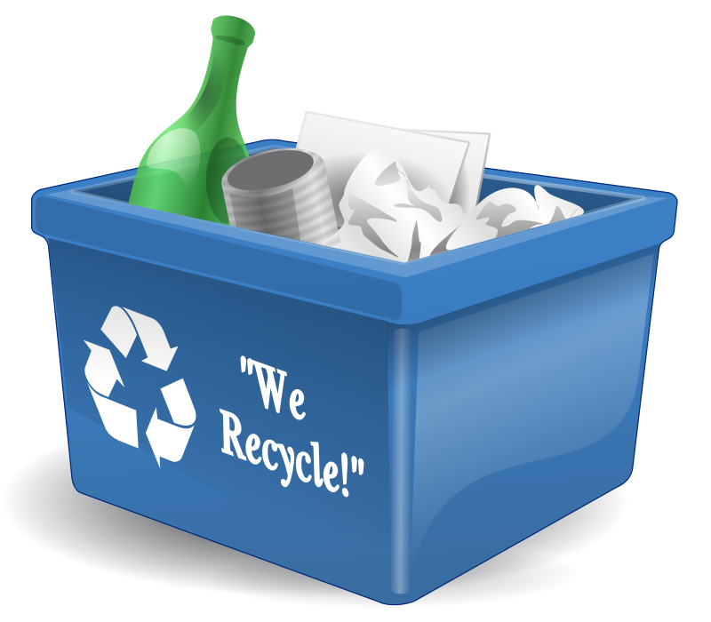 Free Clipart: Recycling Bin | AJ png stock