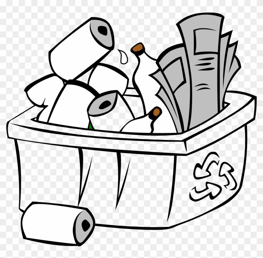 Recycle clipart black and white clip art free stock Recycling Clipart Black And White - Earth Day Clip Art, HD ... clip art free stock