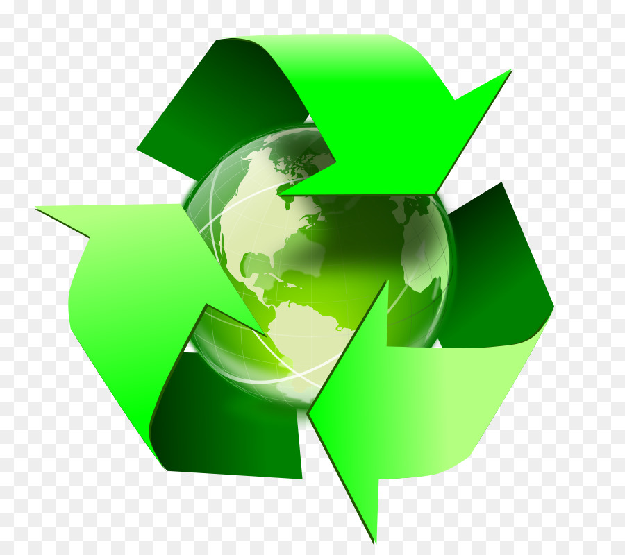 Recycle earth clipart vector library Green Leaf Logo clipart - Earth, Paper, Green, transparent ... vector library