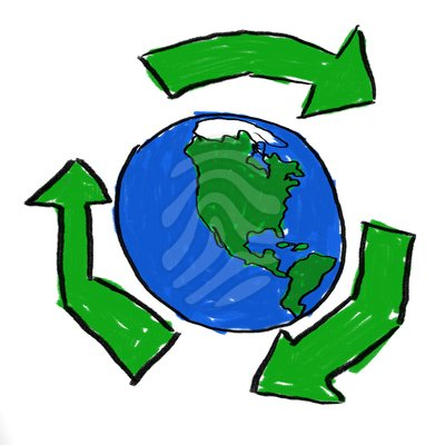 Recycle earth clipart picture black and white Recycle Image | Free download best Recycle Image on ... picture black and white